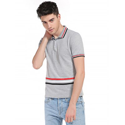 WHATLEES Striped Cotton T ShirtsMens Short Sleeve Tees<br>WHATLEES Striped Cotton T Shirts<br><br>Brand: WHATLEES<br>Color: Black,Light Gray,White<br>Material: Cotton<br>Package Content: 1 x WHATLEES T Shirt<br>Package size: 40.00 x 30.00 x 2.00 cm / 15.75 x 11.81 x 0.79 inches<br>Package weight: 0.3000 kg<br>Pattern Type: Striped<br>Product weight: 0.2500 kg<br>Season: Summer<br>Size: L,M,S,XL,XXL<br>Sleeve Length: Short Sleeves<br>Style: Casual