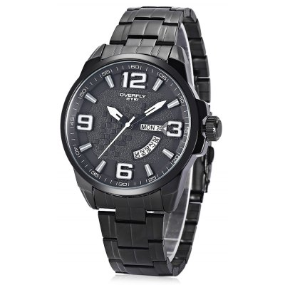 EYKI 3053 Date Day Display Men Quartz Watch