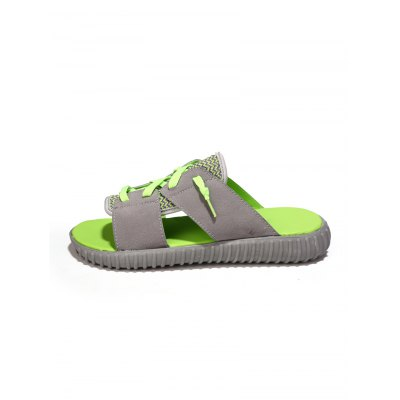 Lace-up Men SlippersMens Slippers<br>Lace-up Men Slippers<br><br>Color: Black,Green,Red<br>Contents: 1 x Pair of Shoes<br>Materials: PU, Rubber, Woven Fabric<br>Occasion: Casual<br>Package Size ( L x W x H ): 32.00 x 18.00 x 11.00 cm / 12.6 x 7.09 x 4.33 inches<br>Package Weights: 0.870kg<br>Seasons: Summer<br>Size: 39,40,41,42,43,44<br>Style: Comfortable<br>Type: Slippers