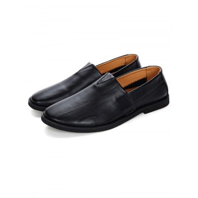 British Style Men Leather LoafersMen's Oxford<br>British Style Men Leather Loafers<br><br>Color: Black,Deep Brown,Light Brown<br>Contents: 1 x Pair of Shoes<br>Materials: Genuine Leather, PU, Rubber<br>Occasion: Casual<br>Package Size ( L x W x H ): 33.00 x 22.00 x 11.00 cm / 12.99 x 8.66 x 4.33 inches<br>Package Weights: 0.780kg<br>Seasons: Autumn,Spring,Summer<br>Size: 38,39,40,41,42,43,44<br>Style: Leisure<br>Type: Casual Shoes