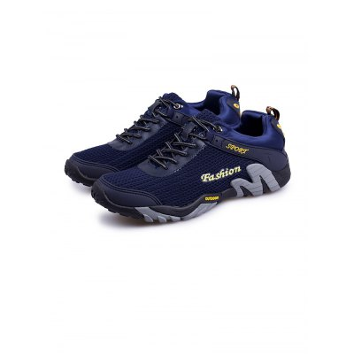 Outdoor Hiking Sports ShoesAthletic Shoes<br>Outdoor Hiking Sports Shoes<br><br>Available Size: 38, 39, 40, 41, 42, 43, 44<br>Color: Black,Blue,Gray<br>Features: Breathable<br>Gender: Men<br>Package Contents: 1 x Pair of Shoes<br>Package size: 33.00 x 22.00 x 11.00 cm / 12.99 x 8.66 x 4.33 inches<br>Package weight: 0.9620 kg<br>Product weight: 0.6000 kg<br>Season: Spring, Autumn<br>Sole Material: Rubber<br>Type: Hiking Shoes<br>Upper Height: Low