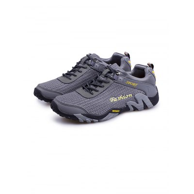 Outdoor Hiking Sports ShoesHiking Shoes<br>Outdoor Hiking Sports Shoes<br><br>Available Size: 38, 39, 40, 41, 42, 43, 44<br>Color: Black,Blue,Gray<br>Features: Breathable<br>Gender: Men<br>Package Contents: 1 x Pair of Shoes<br>Package size: 33.00 x 22.00 x 11.00 cm / 12.99 x 8.66 x 4.33 inches<br>Package weight: 0.9620 kg<br>Product weight: 0.6000 kg<br>Season: Spring, Autumn<br>Sole Material: Rubber<br>Type: Hiking Shoes<br>Upper Height: Low