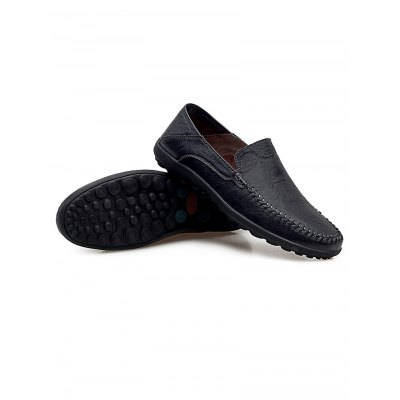 Genuine Leather Men LoafersCasual Shoes<br>Genuine Leather Men Loafers<br><br>Color: Black,Deep Brown,Light Brown<br>Contents: 1 x Pair of Shoes<br>Materials: Genuine Leather, Rubber<br>Occasion: Casual<br>Package Size ( L x W x H ): 33.00 x 22.00 x 11.00 cm / 12.99 x 8.66 x 4.33 inches<br>Package Weights: 0.780kg<br>Pattern Type: Solid<br>Seasons: Autumn,Spring,Summer<br>Size: 38,39,40,41,42,43,44<br>Style: Comfortable<br>Type: Casual Shoes