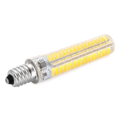 BRELONG E14 5W LED Corn BulbCorn Bulbs<br>BRELONG E14 5W LED Corn Bulb<br><br>Available Light Color: Warm White,White<br>Brand: BRELONG<br>CCT/Wavelength: 6000-6500K<br>Emitter Types: SMD 5730<br>Features: Energy Saving, Low Power Consumption<br>Function: playing fields,  public places,  stage lighting,  including building and landscape beautification, Outdoor lighting, Studio and Exhibition Lighting, Outdoor Lighting, Home Lighting, Commercial Lighting<br>Holder: E14<br>Luminous Flux: 400LM<br>Output Power: 5W<br>Package Contents: 1 x BRELONG LED Corn Bulb<br>Package size (L x W x H): 2.20 x 2.20 x 10.20 cm / 0.87 x 0.87 x 4.02 inches<br>Package weight: 0.0400 kg<br>Product size (L x W x H): 1.90 x 1.90 x 9.00 cm / 0.75 x 0.75 x 3.54 inches<br>Product weight: 0.0130 kg<br>Sheathing Material: Aluminum, PC<br>Total Emitters: 136<br>Type: Corn Bulbs<br>Voltage (V): AC 110<br>Wattage Range: 5-10W