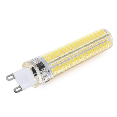 BRELONG G9 E17 Dimmable LED Corn Light BulbCorn Bulbs<br>BRELONG G9 E17 Dimmable LED Corn Light Bulb<br><br>Available Light Color: Warm White,White<br>Brand: BRELONG<br>CCT/Wavelength: 6000-6500K<br>Emitter Types: SMD 5730<br>Features: Long Life Expectancy, Energy Saving<br>Function: Studio and Exhibition Lighting, Home Lighting, Commercial Lighting<br>Holder: G9<br>Luminous Flux: 400LM<br>Output Power: 5W<br>Package Contents: 1 x BRELONG LED Corn Light<br>Package size (L x W x H): 2.20 x 2.20 x 10.20 cm / 0.87 x 0.87 x 4.02 inches<br>Package weight: 0.0600 kg<br>Product size (L x W x H): 1.90 x 1.90 x 9.00 cm / 0.75 x 0.75 x 3.54 inches<br>Product weight: 0.0130 kg<br>Sheathing Material: Silicone<br>Total Emitters: 136<br>Type: Corn Bulbs<br>Voltage (V): AC 220<br>Wattage Range: 5-10W