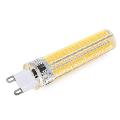 BRELONG G9 E17 Dimmable LED Corn Light BulbCorn Bulbs<br>BRELONG G9 E17 Dimmable LED Corn Light Bulb<br><br>Available Light Color: Warm White,White<br>Brand: BRELONG<br>CCT/Wavelength: 2700-3200K<br>Emitter Types: SMD 5730<br>Features: Long Life Expectancy, Energy Saving<br>Function: Studio and Exhibition Lighting, Home Lighting, Commercial Lighting<br>Holder: G9<br>Luminous Flux: 400LM<br>Output Power: 5W<br>Package Contents: 1 x BRELONG LED Corn Light<br>Package size (L x W x H): 2.20 x 2.20 x 10.20 cm / 0.87 x 0.87 x 4.02 inches<br>Package weight: 0.0600 kg<br>Product size (L x W x H): 1.90 x 1.90 x 9.00 cm / 0.75 x 0.75 x 3.54 inches<br>Product weight: 0.0130 kg<br>Sheathing Material: Silicone<br>Total Emitters: 136<br>Type: Corn Bulbs<br>Voltage (V): AC 110<br>Wattage Range: 5-10W