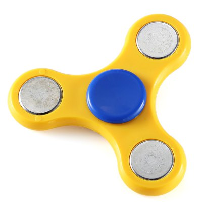 Tri-spinner ABS Hand Spinner Stress Relievers ToyFidget Spinners<br>Tri-spinner ABS Hand Spinner Stress Relievers Toy<br><br>Center Bearing Material: Stainless Steel Bearing<br>Color: Yellow<br>Features: Detachable<br>Frame material: ABS<br>Package Contents: 1 x Hand Spinner<br>Package size (L x W x H): 7.00 x 7.00 x 2.00 cm / 2.76 x 2.76 x 0.79 inches<br>Package weight: 0.0500 kg<br>Product size (L x W x H): 6.00 x 6.00 x 0.60 cm / 2.36 x 2.36 x 0.24 inches<br>Product weight: 0.0300 kg<br>Swing Numbers: 3