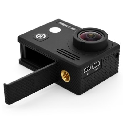 HawKeye Firefly 8S 4K WiFi Sports Camera 170 Degree FOVAction Cameras<br>HawKeye Firefly 8S 4K WiFi Sports Camera 170 Degree FOV<br><br>Aerial Photography: Yes<br>Anti-shake: Yes<br>Application: Aerial Photography, Underwater, Ski, Extreme Sports<br>Auto Focusing: No<br>Battery Capacity (mAh): 1200mAh<br>Battery Type: Removable<br>Brand: Hawkeye<br>Camera Timer: Yes<br>Charge way: USB charge by PC<br>Charging Time: 2.5h<br>Chipset: Ambarella A12S75<br>Chipset Name: Ambarella<br>Features: Wireless<br>Function: Remote Control, Waterproof, Camera Timer, Anti-Shake, WiFi<br>Image Format : JPG<br>Lens Diameter: 12mm<br>Max External Card Supported: TF 128G (not included)<br>Model: Firefly 8S<br>Night vision : No<br>Package Contents: 1 x FIREFLY 8S 4K WiFi Sport HD DV Camera, 1 x Waterproof Case, 1 x J-shaped Mount, 1 x Long Connector + Screw, 2 x Short Connector + Screw, 1 x Bike Handlebar Seatpost Pole Mount, 1 x 360 Degree Rota<br>Package size (L x W x H): 27.00 x 15.00 x 10.00 cm / 10.63 x 5.91 x 3.94 inches<br>Package weight: 0.6500 kg<br>Product size (L x W x H): 5.90 x 2.10 x 4.10 cm / 2.32 x 0.83 x 1.61 inches<br>Product weight: 0.0700 kg<br>Screen: With Screen<br>Screen resolution: 640x480<br>Screen size: 2.0inch<br>Screen type: LCD<br>Standby time: 5h<br>Type: Sports Camera<br>Type of Camera: 4K<br>Video format: MP4<br>Video Frame Rate: 120fps,240fps,30FPS,60FPS<br>Video Resolution: 1080P (120fps),1080P(60fps),2.5K (60fps),2.7K (30fps),4K (3840 x 2160),720P (240fps)<br>Water Resistant: 20m ( with waterproof case )<br>Waterproof: Yes<br>Wide Angle: 170 degree wide angle<br>WIFI: Yes<br>WiFi Distance : 10m<br>Working Time: 1.33h