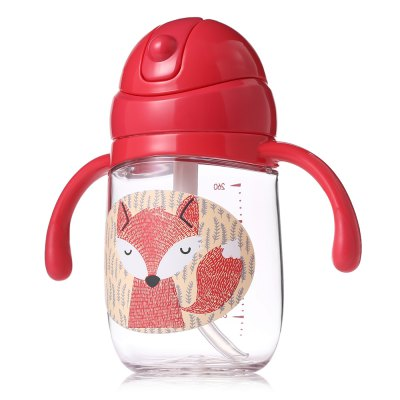 babycare 260ml Baby Straw BottleFeeding<br>babycare 260ml Baby Straw Bottle<br><br>Brand: babycare<br>Color: Red<br>Material: Plastic, Silicone<br>Package Contents: 1 x Milk Bottle<br>Package size (L x W x H): 14.40 x 8.50 x 16.00 cm / 5.67 x 3.35 x 6.3 inches<br>Package weight: 0.2230 kg<br>Product size (L x W x H): 14.00 x 11.00 x 6.50 cm / 5.51 x 4.33 x 2.56 inches<br>Product weight: 0.1290 kg<br>Type: Toddler Feeding