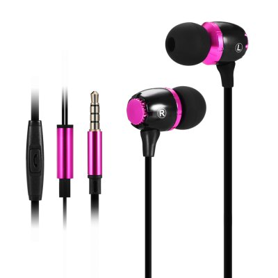 HUAST HST - 41 Metal Music Earphones