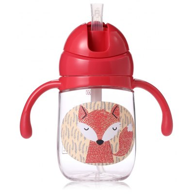 babycare 260ml Baby Straw Bottle