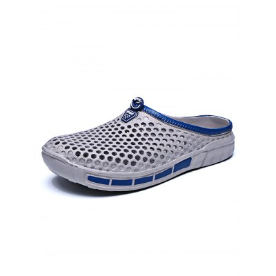 261 - 1 Bird Nest SlippersMens Slippers<br>261 - 1 Bird Nest Slippers<br><br>Color: Black,Blue,Gray<br>Contents: 1 x Pair of Slippers<br>Materials: PU, PVC<br>Occasion: Casual<br>Package Size ( L x W x H ): 32.00 x 18.00 x 5.00 cm / 12.6 x 7.09 x 1.97 inches<br>Package Weights: 0.32KG<br>Seasons: Summer<br>Size: 40,41,42,43,44,45<br>Style: Leisure<br>Type: Slippers