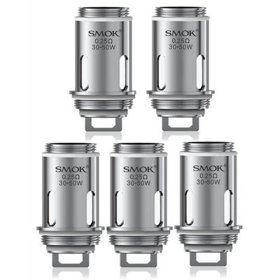 5pcs Smok VAPE PEN 0.25 ohm Dual Coils for VAPE PEN Tank