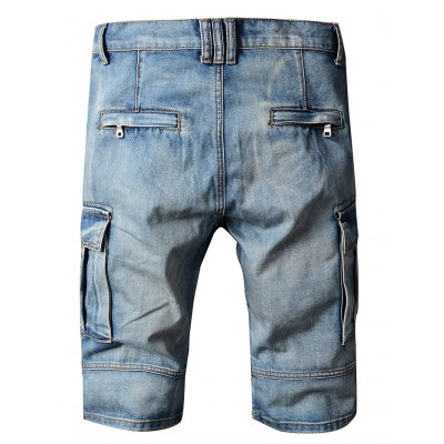 Men Short Biker Jeans with DistressingMens Shorts<br>Men Short Biker Jeans with Distressing<br><br>Color: Blue<br>Material: Cotton<br>Package Contents: 1 x Pair of Jeans<br>Package size: 20.00 x 20.00 x 2.00 cm / 7.87 x 7.87 x 0.79 inches<br>Package weight: 0.5200 kg<br>Product weight: 0.4500 kg<br>Size: 30,31,32,33,34,36,38