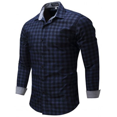 FREDD MARSHALL Plaid Shirts