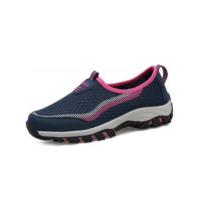 Air Mesh Women Hiking ShoesWomens Sneakers<br>Air Mesh Women Hiking Shoes<br><br>Color: Deep Blue,Light Gray,Purple<br>Contents: 1 x Pair of Shoes<br>Materials: Mesh, PU, Rubber<br>Occasion: Casual<br>Package Size ( L x W x H ): 33.00 x 22.00 x 11.00 cm / 12.99 x 8.66 x 4.33 inches<br>Package Weights: 0.780kg<br>Seasons: Autumn,Spring,Summer<br>Size: 35,36,37,38,39,40<br>Style: Leisure<br>Type: Hiking Shoes