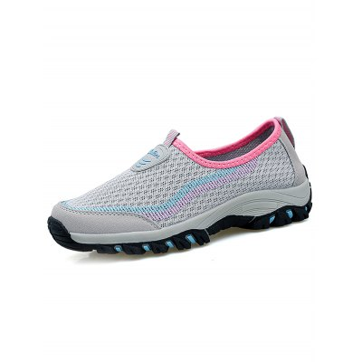 Air Mesh Women\s Hiking ShoesWomens Sneakers<br>Air Mesh Women\s Hiking Shoes<br><br>Color: Deep Blue,Light Gray,Purple<br>Contents: 1 x Pair of Shoes<br>Materials: Mesh, PU, Rubber<br>Occasion: Casual<br>Package Size ( L x W x H ): 33.00 x 22.00 x 11.00 cm / 12.99 x 8.66 x 4.33 inches<br>Package Weights: 0.780kg<br>Seasons: Autumn,Spring,Summer<br>Size: 35,36,37,38,39,40<br>Style: Leisure<br>Type: Hiking Shoes