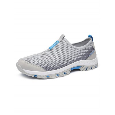 Breathable Mesh Upper Outdoor Sneakers for Male