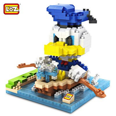 LOZ ABS Cartoon Figure Building Block - 530pcs / set