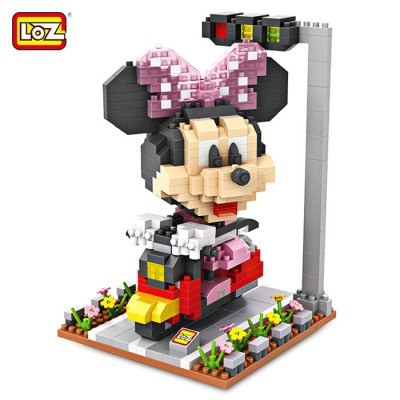 LOZ ABS Cartoon Figure Building Block - 570pcs / set