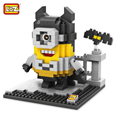 LOZ ABS Cartoon Figure Building Block - 390pcs / set