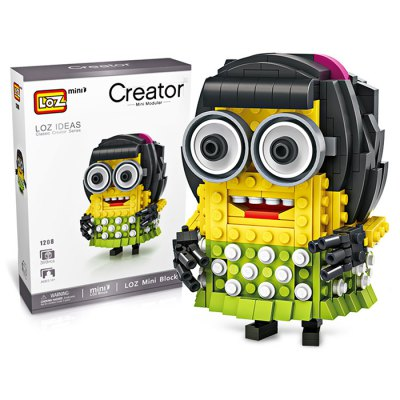 LOZ ABS Cartoon Figure Building Block - 399pcs / setBlock Toys<br>LOZ ABS Cartoon Figure Building Block - 399pcs / set<br><br>Brand: LOZ<br>Completeness: Semi-finished Product<br>Gender: Unisex<br>Materials: ABS<br>Package Contents: 1 x Building Block Set, 1 x Operation Instruction<br>Package size: 17.00 x 5.00 x 24.00 cm / 6.69 x 1.97 x 9.45 inches<br>Package weight: 0.2800 kg<br>Product size: 7.20 x 5.00 x 10.00 cm / 2.83 x 1.97 x 3.94 inches<br>Product weight: 0.2200 kg<br>Suitable Age: Kid<br>Theme: Movie and TV<br>Type: Kids Building