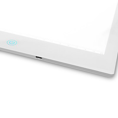 Yingcun A4 Super Slim Adjustable Light Tracing BoardGraphics Tablets<br>Yingcun A4 Super Slim Adjustable Light Tracing Board<br><br>Brand: Yingcun<br>Compatible Operation Systems: Android,IOS,Linux,Mac 10.2.6,Mac 10.4,Mac OS,Windows 10,Windows 7,Windows 8,Windows Vista,Windows XP<br>Display Area: 21.5 inch<br>Package Contents: 1 x Yingcun A4 LED Light Board, 1 x USB Cable, 1 x English Manual<br>Package Size(L x W x H): 43.00 x 27.00 x 4.00 cm / 16.93 x 10.63 x 1.57 inches<br>Package weight: 0.6890 kg<br>Pressure Sensitivity: 1024<br>Product Size(L x W x H): 36.00 x 24.00 x 0.50 cm / 14.17 x 9.45 x 0.2 inches<br>Product weight: 0.5260 kg<br>Resolution: 3048LPI