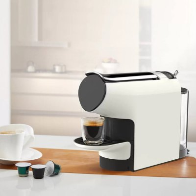 Xiaomi SCISHARE Capsule Espresso Coffee MachineOthers<br>Xiaomi SCISHARE Capsule Espresso Coffee Machine<br><br>Brand: Xiaomi<br>Frequency: 50Hz<br>Input Voltage: 220 - 240V<br>Package Contents: 1 x Espresso Machine, 50 x Coffee Capsule<br>Package size (L x W x H): 42.00 x 37.00 x 16.00 cm / 16.54 x 14.57 x 6.3 inches<br>Package weight: 4.8500 kg<br>Power (W): 1200<br>Product size (L x W x H): 34.00 x 26.00 x 10.00 cm / 13.39 x 10.24 x 3.94 inches<br>Product weight: 2.8670 kg<br>Type: Handheld<br>Water Tank Capacity (ml): 580