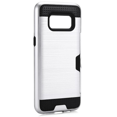 Angibabe Brushed Finish PC CaseSamsung Cases/Covers<br>Angibabe Brushed Finish PC Case<br><br>Brand: Angibabe<br>Color: Black,Gold,Silver<br>Compatible with: Samsung Galaxy S8<br>Features: Anti-knock, Back Cover<br>Material: PC, Silicone<br>Package Contents: 1 x Phone Case<br>Package size (L x W x H): 16.50 x 8.50 x 2.10 cm / 6.5 x 3.35 x 0.83 inches<br>Package weight: 0.0710 kg<br>Product size (L x W x H): 15.40 x 7.40 x 1.10 cm / 6.06 x 2.91 x 0.43 inches<br>Product weight: 0.0470 kg<br>Style: Cool, Modern