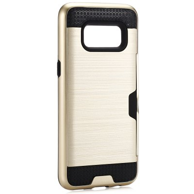 Angibabe Brushed Finish Back CaseSamsung Cases/Covers<br>Angibabe Brushed Finish Back Case<br><br>Brand: Angibabe<br>Color: Black,Gold,Silver<br>Compatible with: Samsung Galaxy S8 Plus<br>Features: Anti-knock, Back Cover<br>Material: PC, Silicone<br>Package Contents: 1 x Phone Case<br>Package size (L x W x H): 17.50 x 8.90 x 2.10 cm / 6.89 x 3.5 x 0.83 inches<br>Package weight: 0.0800 kg<br>Product size (L x W x H): 16.40 x 7.90 x 1.10 cm / 6.46 x 3.11 x 0.43 inches<br>Product weight: 0.0570 kg<br>Style: Cool, Modern