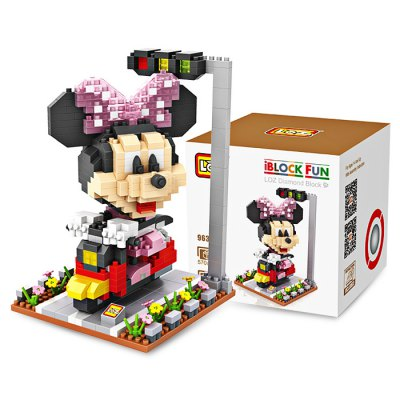 LOZ ABS Cartoon Figure Building Block - 570pcs / setBlock Toys<br>LOZ ABS Cartoon Figure Building Block - 570pcs / set<br><br>Brand: LOZ<br>Completeness: Semi-finished Product<br>Gender: Unisex<br>Materials: ABS<br>Package Contents: 1 x Building Block Set, 1 x Operation Instruction<br>Package size: 9.50 x 9.50 x 9.50 cm / 3.74 x 3.74 x 3.74 inches<br>Package weight: 0.2200 kg<br>Product size: 8.00 x 8.00 x 12.20 cm / 3.15 x 3.15 x 4.8 inches<br>Product weight: 0.1800 kg<br>Suitable Age: Kid<br>Theme: Movie and TV<br>Type: Kids Building