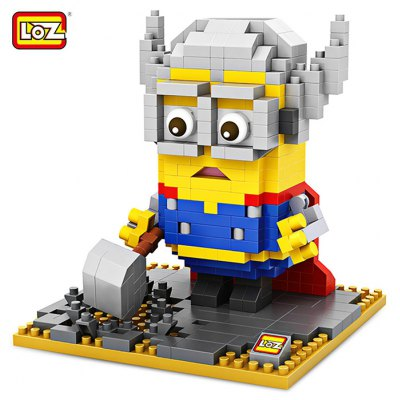 LOZ Cartoon Figure Building Block - 400pcs / set