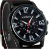 Weijieer 578 Male Quartz Watch with Round Dial Stereo Ditigal Rubber Watch Band deal