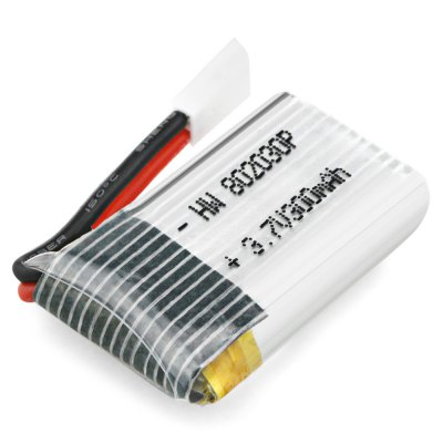 3.7V 300mAh 25C Li-ion BatteryRC Quadcopter Parts<br>3.7V 300mAh 25C Li-ion Battery<br><br>Charging Time.: 45 minutes<br>Compatible with: FQ777 FQ17W,  Eachine E55 mini RC pocket drone<br>Flying Time: 7 minutes<br>Package Contents: 1 x Lithium-ion Battery<br>Package size (L x W x H): 6.50 x 5.00 x 2.90 cm / 2.56 x 1.97 x 1.14 inches<br>Package weight: 0.0190 kg<br>Product size (L x W x H): 3.30 x 8.00 x 1.90 cm / 1.3 x 3.15 x 0.75 inches<br>Product weight: 0.0070 kg<br>Type: Battery