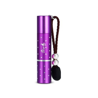 UltraFire UT2 395nm Mini LED UV FlashlightLED Flashlights<br>UltraFire UT2 395nm Mini LED UV Flashlight<br><br>Available Light Color: UV<br>Battery Included or Not: No<br>Battery Quantity: 1 x 16340 or 1 x AA ( not included )<br>Battery Type: 16340, AA<br>Body Material: Aluminium Alloy<br>Brand: Ultrafire<br>Emitters: UV LED<br>Emitters Quantity: 1<br>Feature: Lanyard, Tail Stand<br>Flashlight size: EDC<br>Flashlight Type: Tiny,UV<br>Function: Household Use, Currency Detection<br>Light color: Purple<br>Model: UT2<br>Package Contents: 1 x UltraFire UT2 LED Flashlight, 1 x Lanyard, 1 x Knife<br>Package size (L x W x H): 12.00 x 4.00 x 4.00 cm / 4.72 x 1.57 x 1.57 inches<br>Package weight: 0.0790 kg<br>Product size (L x W x H): 9.50 x 2.00 x 2.00 cm / 3.74 x 0.79 x 0.79 inches<br>Product weight: 0.0350 kg<br>Switch Location: Tail Cap<br>Wavelength (nm): 395-410
