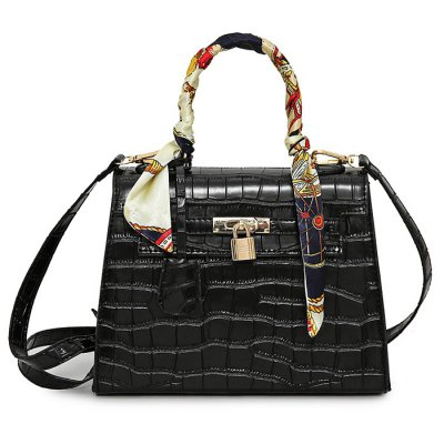 DI DING W21026 PU Leather Handbag