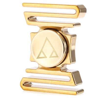 Customized Curved ADHD Brass Fidget Spinner