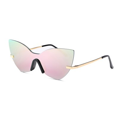 SENLAN Colorful Anti UV Rimless Sunglasses