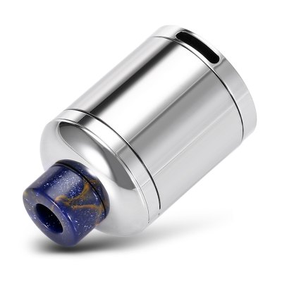 Original Dovpo Bushido2 RDARebuildable Atomizers<br>Original Dovpo Bushido2 RDA<br><br>Brand: DOVPO<br>Material: Stainless Steel<br>Model: Bushido2<br>Overall Diameter: 25mm<br>Package Contents: 1 x Dovpo Bushido2 RDA, 1 x Chamber, 4 x Insulated Ring, 2 x O-ring, 4 x Screw<br>Package size (L x W x H): 9.20 x 7.70 x 3.40 cm / 3.62 x 3.03 x 1.34 inches<br>Package weight: 0.1630 kg<br>Product size (L x W x H): 2.50 x 2.50 x 4.50 cm / 0.98 x 0.98 x 1.77 inches<br>Product weight: 0.0620 kg<br>Rebuildable Atomizer: RBA,RDA<br>Thread: 510<br>Type: Rebuildable Drippers, Rebuildable Atomizer
