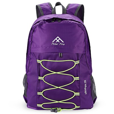 Polar Fire 28L Folding BackpackBackpacks<br>Polar Fire 28L Folding Backpack<br><br>Bag Capacity: 28L<br>Brand: Polar Fire<br>Capacity: 21 - 30L<br>Features: Foldable, Ultra Light, Water Resistance<br>For: Camping, Casual, Traveling<br>Gender: Unisex<br>Material: Polyester<br>Package Contents: 1 x Polar Fire Backpack<br>Package size (L x W x H): 20.50 x 15.50 x 7.00 cm / 8.07 x 6.1 x 2.76 inches<br>Package weight: 0.2600 kg<br>Product size (L x W x H): 43.00 x 30.00 x 12.00 cm / 16.93 x 11.81 x 4.72 inches<br>Product weight: 0.2300 kg<br>Strap Length: 42 - 72cm<br>Style: Fashion<br>Type: Backpack