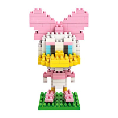 LOZ ABS Cartoon Figure Style Building Block - 200pcs / setBlock Toys<br>LOZ ABS Cartoon Figure Style Building Block - 200pcs / set<br><br>Brand: LOZ<br>Completeness: Semi-finished Product<br>Gender: Unisex<br>Materials: ABS<br>Package Contents: 1 x Building Block Set, 1 x Operation Instruction<br>Package size: 8.50 x 8.50 x 8.50 cm / 3.35 x 3.35 x 3.35 inches<br>Package weight: 0.0900 kg<br>Product size: 5.60 x 3.00 x 8.30 cm / 2.2 x 1.18 x 3.27 inches<br>Product weight: 0.0600 kg<br>Stem From: Europe and America<br>Suitable Age: Baby<br>Theme: Movie and TV<br>Type: Building
