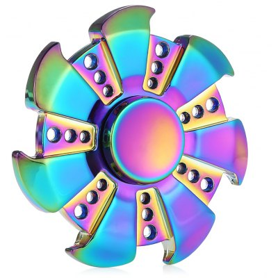 Shining 7-blade Fidget Spinner Stress Relievers Toy