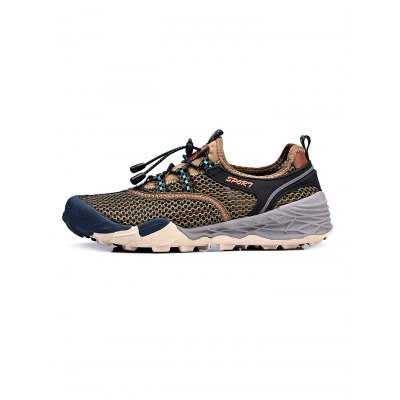 Air Mesh Drawstring Men Hiking ShoesHiking Shoes<br>Air Mesh Drawstring Men Hiking Shoes<br><br>Color: Blue,Brown,Gray,Khaki<br>Contents: 1 x Pair of Shoes<br>Materials: Mesh, Rubber<br>Occasion: Casual<br>Package Size ( L x W x H ): 33.00 x 22.00 x 11.00 cm / 12.99 x 8.66 x 4.33 inches<br>Package Weights: 0.780kg<br>Seasons: Autumn,Spring,Summer<br>Size: 39,40,41,42,43,44<br>Style: Leisure<br>Type: Hiking Shoes
