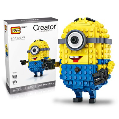 LOZ ABS Cartoon Figure Building Block - 279pcs / setBlock Toys<br>LOZ ABS Cartoon Figure Building Block - 279pcs / set<br><br>Brand: LOZ<br>Completeness: Semi-finished Product<br>Gender: Unisex<br>Materials: ABS<br>Package Contents: 1 x Building Block Set, 1 x Operation Instruction<br>Package size: 17.00 x 5.00 x 24.00 cm / 6.69 x 1.97 x 9.45 inches<br>Package weight: 0.2500 kg<br>Product size: 7.60 x 3.00 x 10.00 cm / 2.99 x 1.18 x 3.94 inches<br>Product weight: 0.2000 kg<br>Stem From: Europe and America<br>Suitable Age: Kid<br>Theme: Movie and TV<br>Type: Building