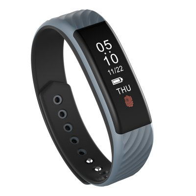 W810 Smartband Fitness Tracker Android iOS CompatibleSmart Watches<br>W810 Smartband Fitness Tracker Android iOS Compatible<br><br>Alert type: Vibration<br>Available Color: Black,Gray,Pink,Purple,Red<br>Band material: TPU<br>Band size: 20 x 1.5cm<br>Battery  Capacity: 75mAh<br>Bluetooth calling: Callers name display,Phone call reminder<br>Bluetooth Version: Bluetooth 4.0<br>Built-in chip type: NRF51822<br>Case material: ABS,PC<br>Charging Time: About 2hours<br>Compatability: Bluetooth 4.0, Above Android 4.3 and iOS 8.0<br>Compatible OS: Android, IOS<br>Dial size: 4.0 x 1.5cm<br>Find phone: Yes<br>Health tracker: Heart rate monitor,Pedometer,Sedentary reminder,Sleep monitor<br>IP rating: IP67<br>Language: English<br>Messaging: Message reminder,Message sending<br>Notification: Yes<br>Notification type: WhatsApp, Wechat, Skype, QQ, G-mail, Facebook, Twitter<br>Operating mode: Touch Key<br>Package Contents: 1 x W810 Smartband, 1 x USB Charger, 1 x Chinese-English User Manual<br>Package size (L x W x H): 17.00 x 9.40 x 3.70 cm / 6.69 x 3.7 x 1.46 inches<br>Package weight: 0.0480 kg<br>People: Female table,Male table<br>Product size (L x W x H): 20.00 x 1.50 x 1.00 cm / 7.87 x 0.59 x 0.39 inches<br>Product weight: 0.0100 kg<br>RAM: 32KB<br>ROM: 256KB<br>Screen: OLED<br>Screen resolution: 128 x 32<br>Screen size: 0.87 inch<br>Shape of the dial: Rectangle<br>Standby time: 8 days<br>Type of battery: Li-polymer battery<br>Waterproof: Yes<br>Wearing diameter: 15 - 20cm