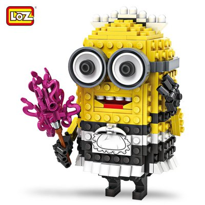 LOZ ABS Cartoon Figure Building Block - 393pcs / set