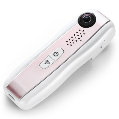 E01 360 Degree Panorama VR Action Sport CameraAction Cameras<br>E01 360 Degree Panorama VR Action Sport Camera<br><br>Aerial Photography: No<br>Anti-shake: Yes<br>Audio System: Built-in microphone/speaker (AAC)<br>Auto Focusing: No<br>Battery Capacity (mAh): 900mAh<br>Battery lifetime (times): 1 - 2 years<br>Battery Type: Built-in<br>Camera Timer: No<br>Charge way: USB charge by PC<br>Charging Time: 45 - 60 minutes<br>Features: Mini<br>Image Format : JPG<br>Language: English<br>Lens Diameter: 1.8cm<br>Max External Card Supported: TF 128G (not included)<br>Microphone: Built-in<br>Model: E01<br>Night vision : No<br>Package Contents: 1 x E01 720 Degree Panorama VR Action Sport Camera, 1 x Eglish / Chinese Users Manual, 1 x Replaceable Micro USB Joint, 1 x Type-C USB Cable<br>Package size (L x W x H): 16.00 x 10.00 x 6.20 cm / 6.3 x 3.94 x 2.44 inches<br>Package weight: 0.2540 kg<br>Product size (L x W x H): 11.50 x 4.00 x 3.00 cm / 4.53 x 1.57 x 1.18 inches<br>Product weight: 0.0600 kg<br>Standby time: 1 - 2h<br>Time lapse: No<br>Type: Sports Camera<br>Video format: MOV<br>Video Frame Rate: 30FPS<br>Video Resolution: 960P (30fps)<br>Waterproof: No<br>Waterproof Rating : No<br>Wide Angle: 210 degree wide angle<br>WIFI: Yes<br>WiFi Distance : 10m<br>Working Time: 45 - 60 minutes