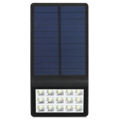 SL - 860A 15 SMD 2835 Solar Powered LED LightOutdoor Lights<br>SL - 860A 15 SMD 2835 Solar Powered LED Light<br><br>Color Temperature: 6000 - 6500K<br>Features: Sensor, Water-resistant<br>Light Type: Outdoor Light<br>Material: ABS<br>Optional Light Color: Cold White<br>Package Contents: 1 x SL - 860A Light, 1 x English User Manual, 1 x Pack of Accessories<br>Package size (L x W x H): 9.50 x 4.50 x 17.50 cm / 3.74 x 1.77 x 6.89 inches<br>Package weight: 0.2010 kg<br>Powered Source: Solar<br>Product size (L x W x H): 8.00 x 3.00 x 15.00 cm / 3.15 x 1.18 x 5.91 inches<br>Product weight: 0.1700 kg