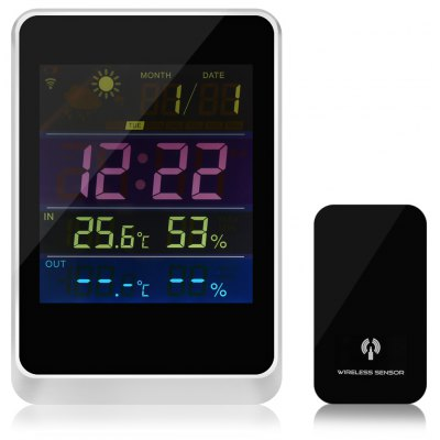 HAPTIME YGH - 391 Alarm Clock Weather Forecast Station
