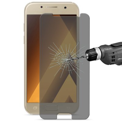 Hat Prince 2.5D Peep-proof FilmSamsung Screen Protectors<br>Hat Prince 2.5D Peep-proof Film<br><br>Brand: Hat-Prince<br>Features: Ultra thin, Anti fingerprint, Anti scratch, Anti-oil, High sensitivity, High-definition<br>Material: Tempered Glass<br>Package Contents: 1 x Screen Film, 1 x Wet Wipes, 1 x Cleaning Cloth, 1 x Dust Remover<br>Package size (L x W x H): 19.00 x 9.80 x 1.60 cm / 7.48 x 3.86 x 0.63 inches<br>Package weight: 0.0700 kg<br>Product weight: 0.0100 kg<br>Surface Hardness: 9H<br>Thickness: 0.26mm<br>Type: Screen Protector